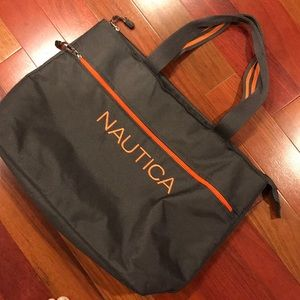 Never used gray tote